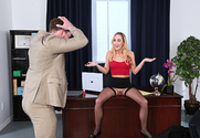 Carter Cruise & Kyle Mason in Naughty Office