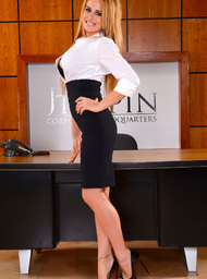 Corinne Blake & Chad White in Naughty Office - Centerfold