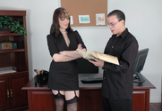 Dana DeArmond & Trent Soluri in Naughty Office - Sex Position 1