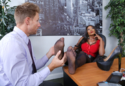 Diamond Jackson & Peter Green in Naughty Office story pic