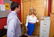 Gemma Jolie & Preston Parker in Naughty Office - Sex Position 1