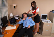Holly Michaels & Bill Bailey in Naughty Office - Sex Position 1