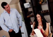 India Summer & Billy Glide in Naughty Office - Sex Position 1