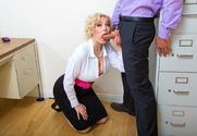 Jenna Ivory & Ryan Driller in Naughty Office - Sex Position 1