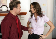Jennifer Dark & Justin Magnum in Naughty Office - Sex Position 1
