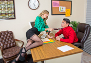 Jillian Janson & Ryan Driller in Naughty Office