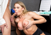 Juelz Ventura & Joey Brass in Naughty Office - Sex Position 2