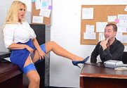 Karen Fisher & Jessy Jones in Naughty Office story pic
