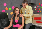 Kayla West  & Mr. Pete in Naughty Office - Sex Position 1