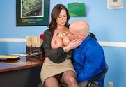 Kendra Lust & Derrick Pierce in Naughty Office - Sex Position 1