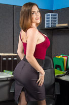 Krissy Lynn starring in Co-workerporn videos with American and Ass licking