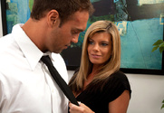 Kristal Summers & Rocco Reed in Naughty Office - Sex Position 1