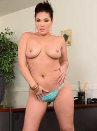 London Keyes & Prince Yahshua in Naughty Office - Centerfold