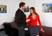 Monique Fuentes & Rocco Reed in Naughty Office - Sex Position 1