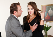 Nika Noir & Will Powers in Naughty Office sex pic