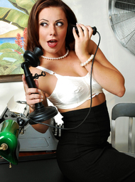Aiden Starr & Penny Flame & Alan Stafford & Charles Dera & Herschel Savage in Naughty Office