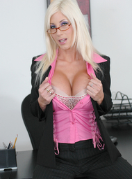 Puma Swede & Billy Glide in Naughty Office - Centerfold