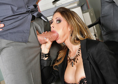 Rachel Roxxx & Billy Glide in Naughty Office - Centerfold