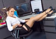 Remy LaCroix & Johnny Castle in Naughty Office - Sex Position 1