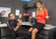 Samantha Saint & Xander Corvus in Naughty Office - Sex Position 1