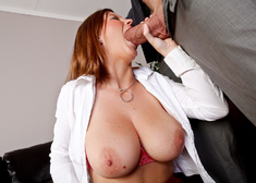 Sara Stone & Billy Glide in Naughty Office - Centerfold