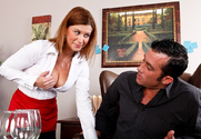 Sara Stone & Billy Glide in Naughty Office - Sex Position 1