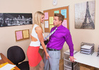 Scarlet Red & Bill Bailey in Naughty Office - Sex Position 2