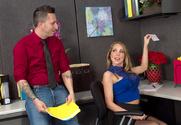 Shawna Lenee & Ike Diezel in Naughty Office - Sex Position 1