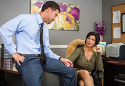 Shay Fox & Seth Gamble in Naughty Office - Sex Position 1