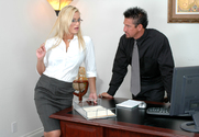 Shyla Stylez & Tommy Gunn in Naughty Office - Sex Position 1
