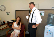Vanessa Lane & Jack Lawrence in Naughty Office
