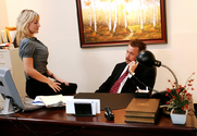 Velicity Von & Tom Byron in Naughty Office - Sex Position 1
