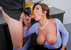 Veronica Avluv & Dane Cross in Naughty Office - Sex Position 2