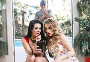Harley Jade & Katrina Jade & Damon Dice in Naughty Rich Girls