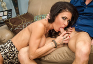 Jessica Jaymes & Ryan Mclane in Naughty Rich Girls - Sex Position 1