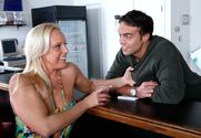 Alexis Golden & Rocco Reed in Seduced by a Cougar - Sex Position 1
