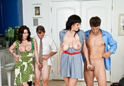 Rayveness, Alia Janine, Ramon Nomar & Ralph Long in Seduced by a Cougar - Sex Position 2