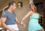 Amber Lynn Bach & Chad White in Seduced By A Cougar story pic
