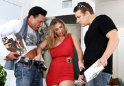 Devon Lee, Jerry & Marco Banderas in Seduced by a cougar - Sex Position 1