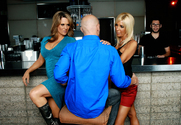 Elle Cee, Misty Vonage & Johnny Sins in Seduced by a cougar - Sex Position 1