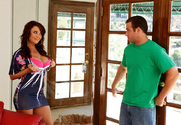 Janet Mason & Chad White in Seduced By A Cougar story pic
