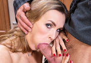 Tanya Tate & Alan Stafford in Seduced By A Cougar sex pic