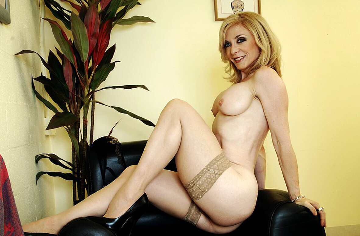 Watch Nina Hartley and Christian video in Diary of a Milf