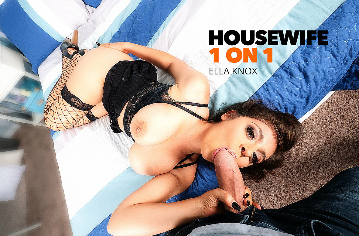 Watch Ella Knox and Bambino 4K video in Housewife 1 on 1