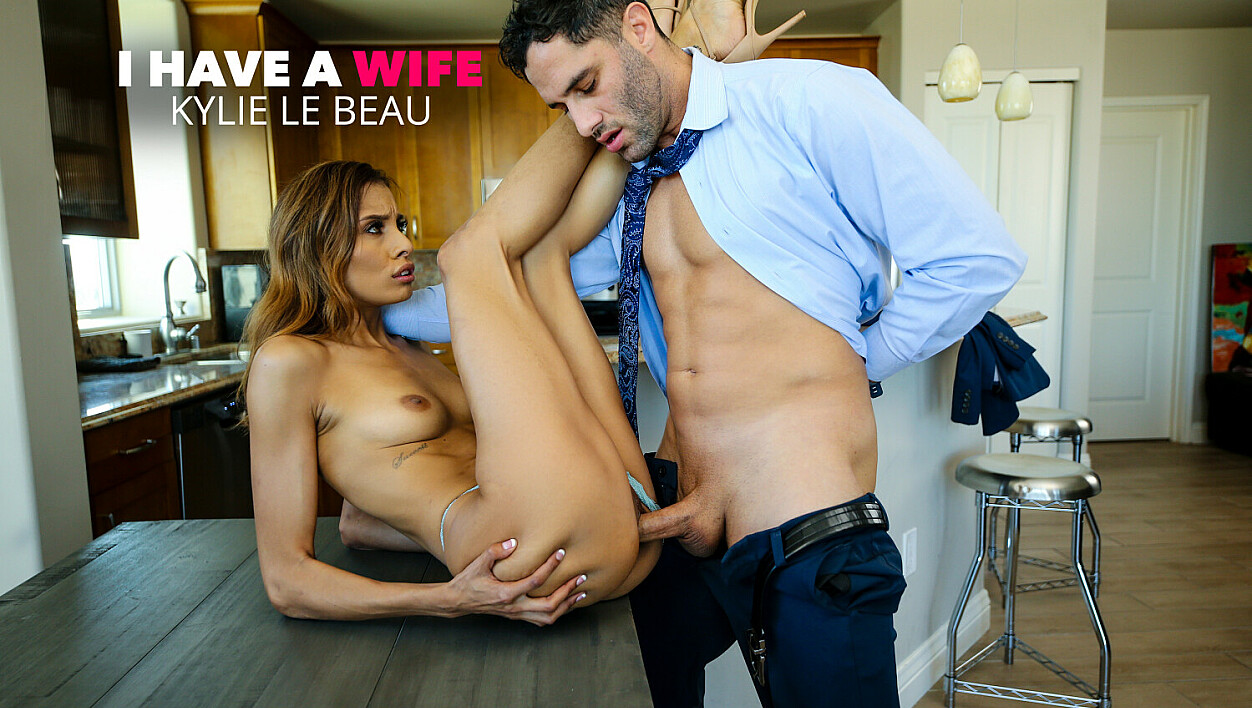Gorgeous Kylie Le Beau Wants her boss's cock
