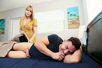 Amber Chase Fucks Her Sons Friend - Sex Position 1