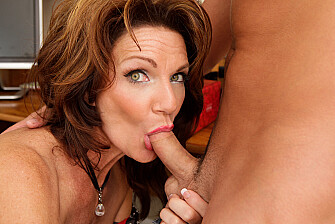 Mature Deauxma fucking in the office with her big tits - Sex Position 3