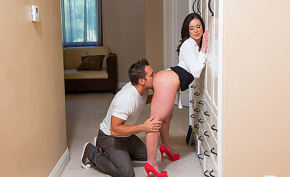 Kendra Lust fucking in the bedroom with her big tits - Sex Position #3