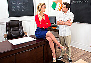 Cherie DeVille & Tyler Nixon in My First Sex Teacher