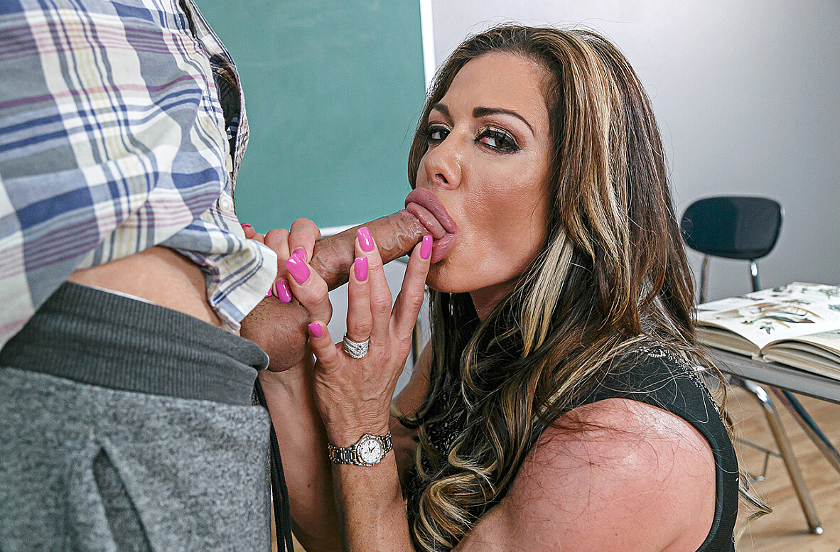 Watch Nina Dolci and Damon Dice 4K video in My First Sex Teacher
